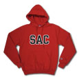 Sac Tt Blk/Wht Hood, Champion - Red