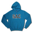 Sac Tt Blk/Wht Hood, Champion - Tide Blue