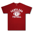 Sac Football Sport Tee, Russell - Red