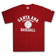 Sac Baseball Sport Tee, Russell - Red