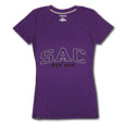Jrs Sac Ulta Darcy V-Neck Tee, Jansport - Purple