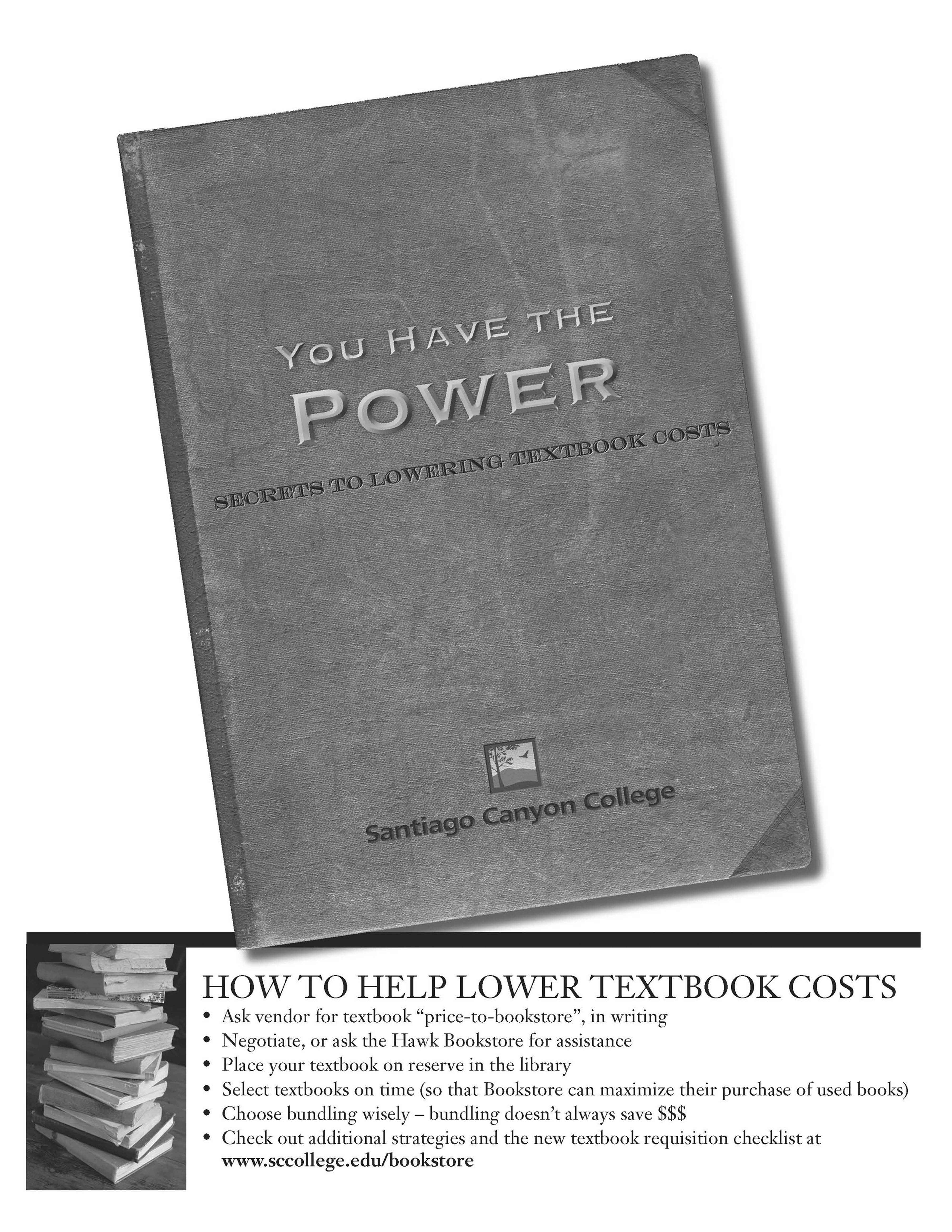 SCC Textbook Savings